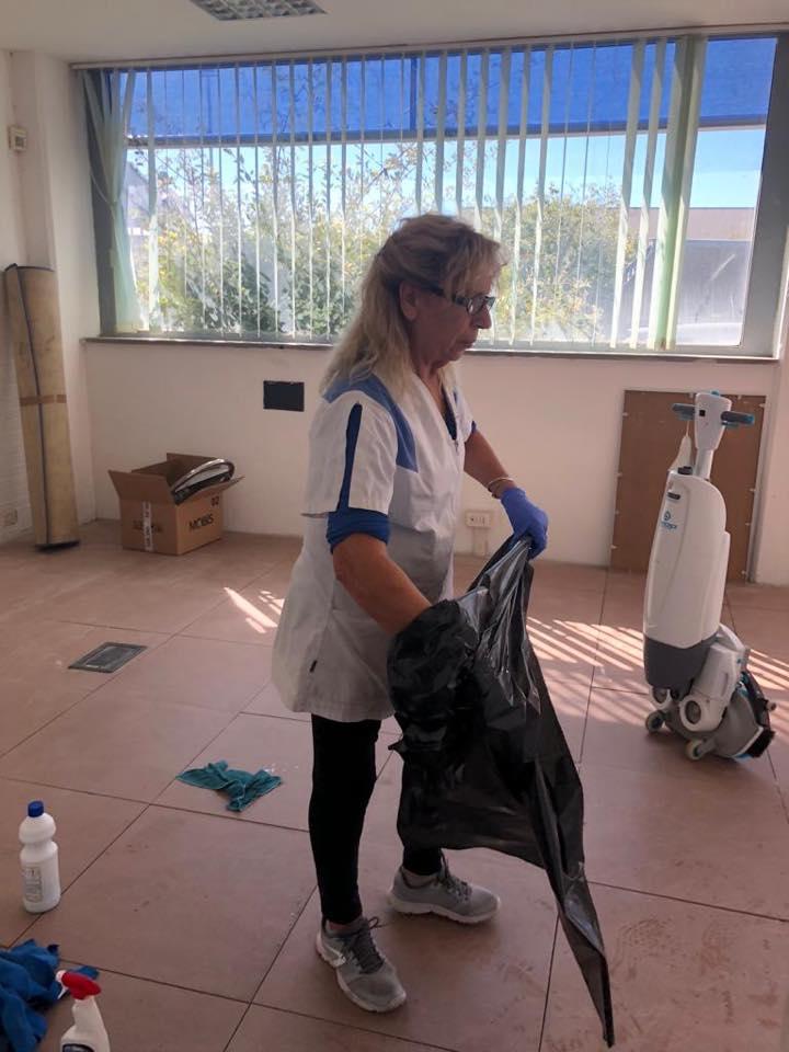 pulizia ambienti di lavoro