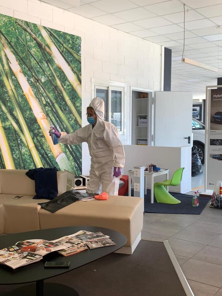 sanificazione ambienti livorno impresa pulizie
