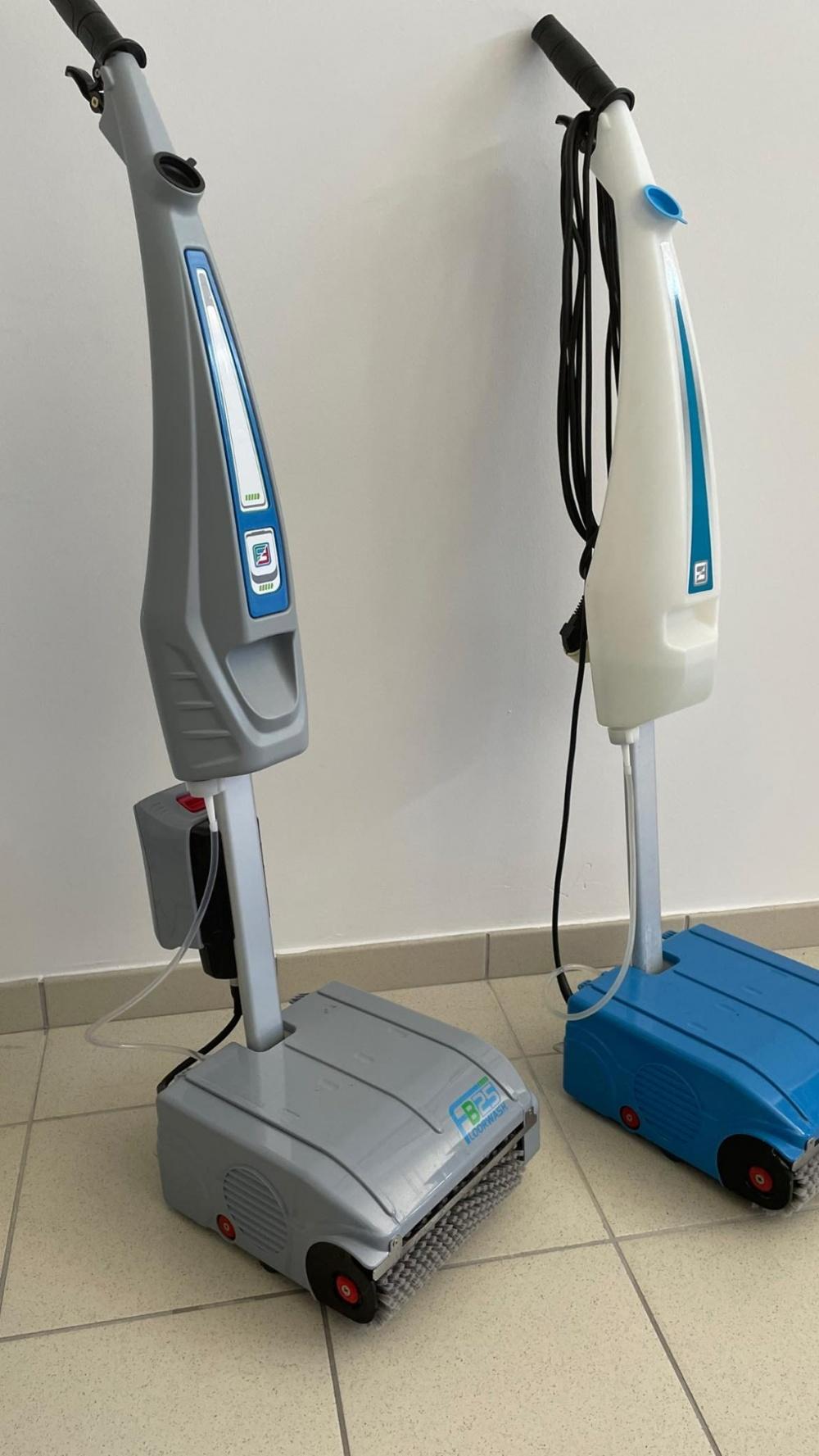 macchinario per la pulizia dei pavimenti