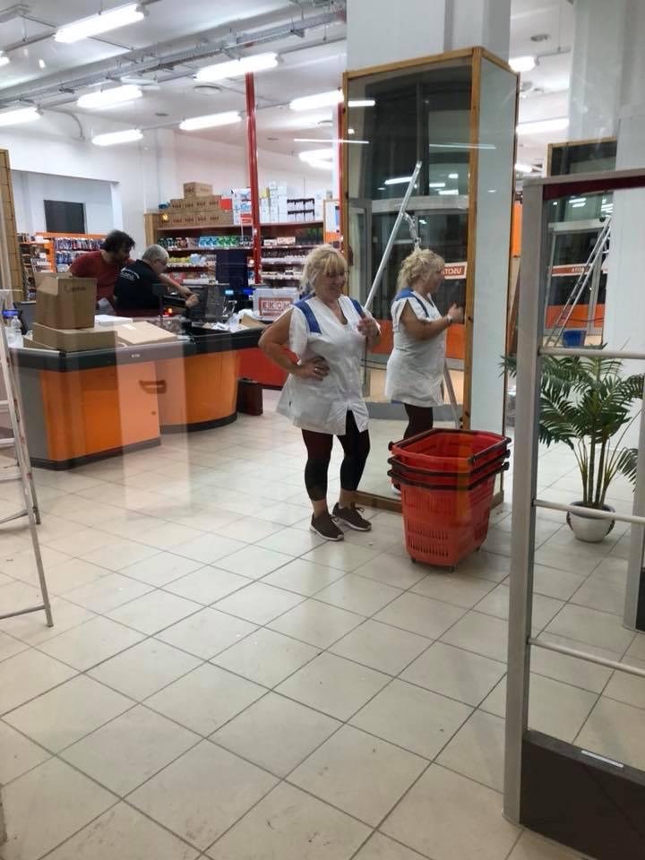 pulizia centri commerciali livorno